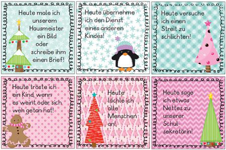 Adventskalender Andersherum Teil Ii Zaubereinmaleins Designblog