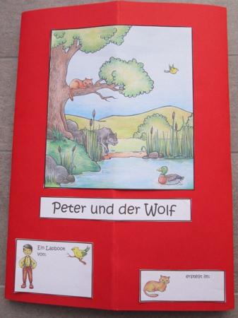 lapbook peter und der wolf zaubereinmaleins designblog. Black Bedroom Furniture Sets. Home Design Ideas