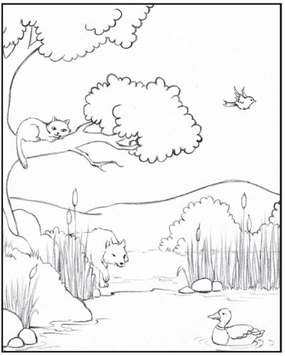 Peter and the wolf pages coloring pages for Peter and the wolf coloring pages free