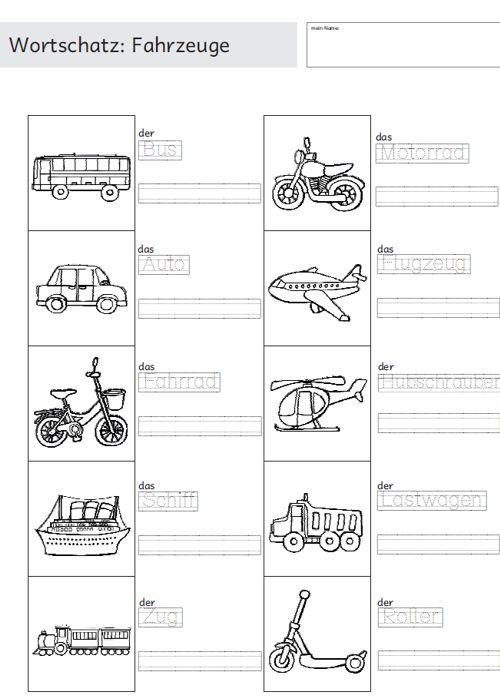 daz wortschatz teil i zaubereinmaleins designblog. Black Bedroom Furniture Sets. Home Design Ideas