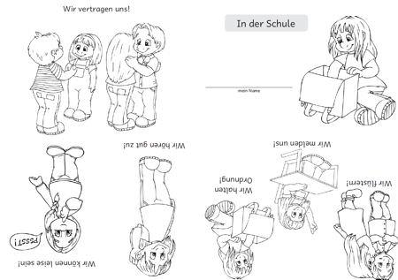 Klassenregeln grundschule bildkarten  Klassenregeln Grundschule Bildkarten | afdecker.com