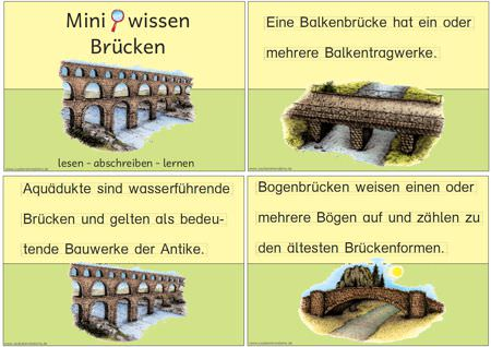 Brückenarten