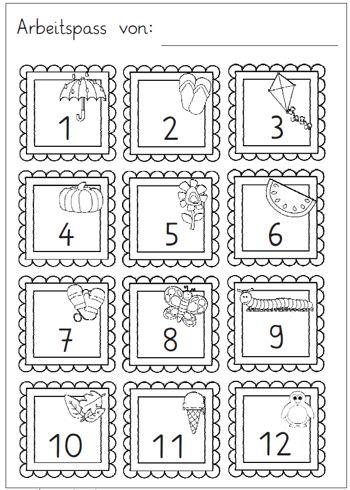 Jahreszeiten Monate Wochentage Zaubereinmaleins Designblog