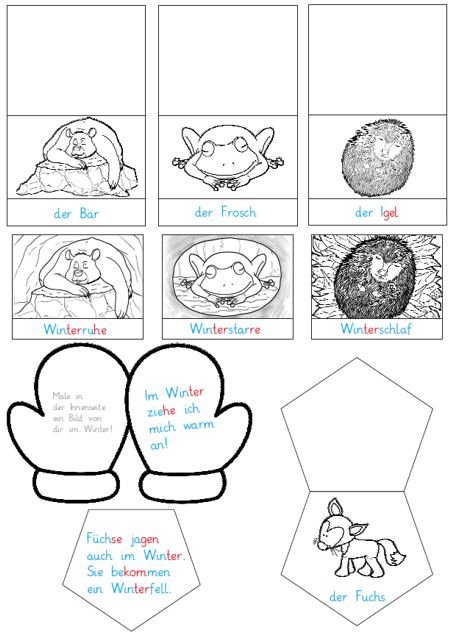 mini-lapbook-winter - Zaubereinmaleins - DesignBlog