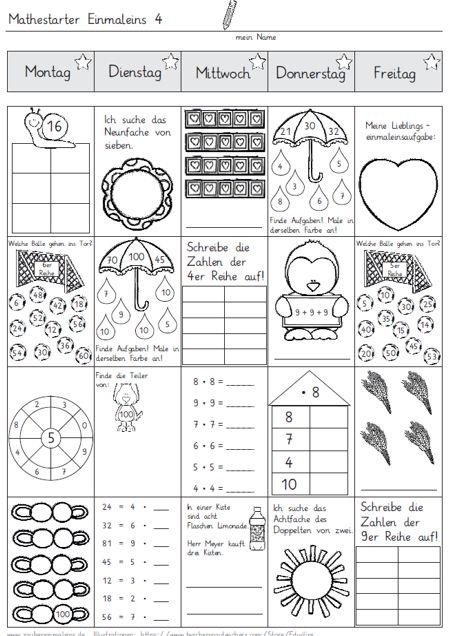 mathestarter 1x1 woche 3 und 4 zaubereinmaleins designblog. Black Bedroom Furniture Sets. Home Design Ideas