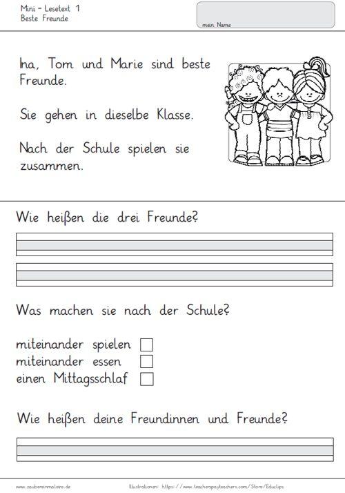 20-mini-lesetexte-zum-leseverstaendnis - Zaubereinmaleins - DesignBlog