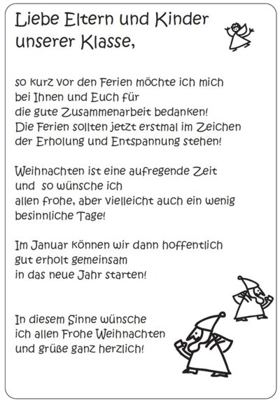 Elternbriefe Vorlagen Kindergarten | ideenfrisch.xyz