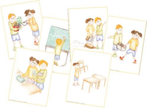 Ordnungsdienst klassenzimmer  klassendienste - Zaubereinmaleins - DesignBlog