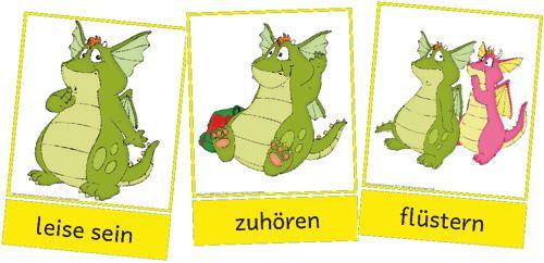Klassenregeln Grundschule Bildkarten ~ Die Schilder liegen farbig bei den Neuigkeiten bereits online
