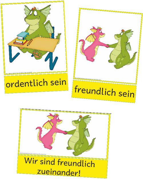 Klassenregeln Grundschule Bildkarten ~ Viel Spaß mit Konstantin und den Regeln und allen Zaubereinmaleins