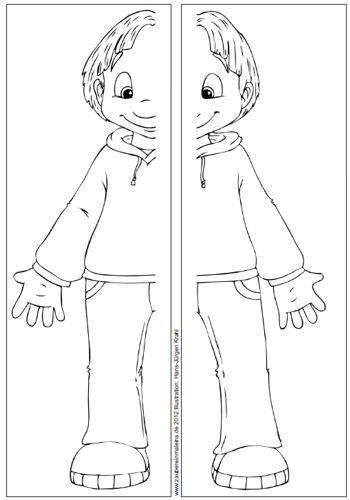 mein-koerper-lapbook-titelbildmaterial - Zaubereinmaleins - DesignBlog