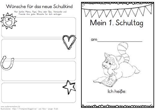 Hausaufgaben Am Ersten Schultag 1 Klasse Zaubereinmaleins Designblog