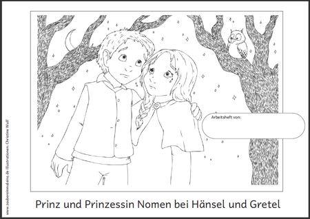 prinz-und-prinzessin-nomen-bei-haensel-und-gretel - Zaubereinmaleins ...